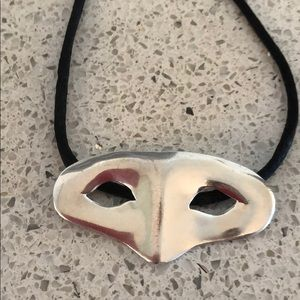 Jewelry - Silver Mask necklace
